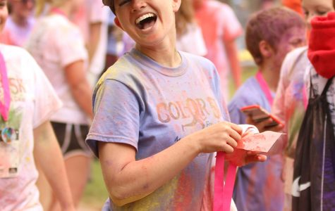 Color run supports 2015 graduate's fight against cancer