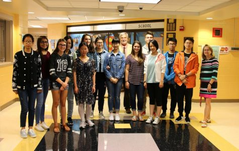 Weicun exchange students return to Dare County