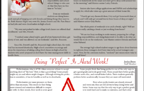 """Let a kid be a kid! / Being """"Perfect"""" is hard work"""